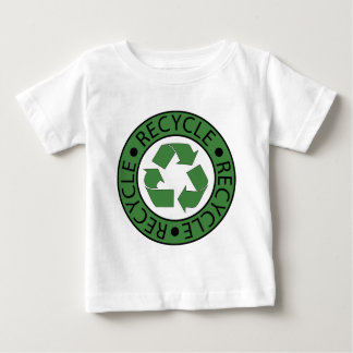 Recycle Green Logo BK Letters Baby T-Shirt