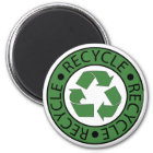 Recycle Green Logo BK Letters Magnet