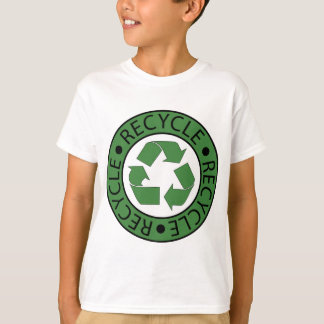 Recycle Green Logo BK Letters T-Shirt