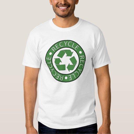 Recycle Green Logo Tshirt