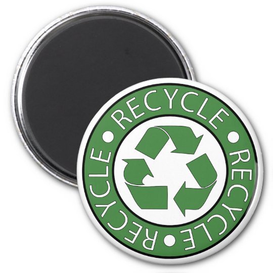 Recycle Green Magnet