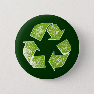 recycle green sign button