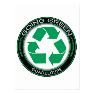 Recycle Guadeloupe Postcard