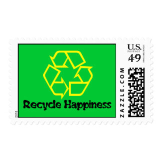 Recycle Happiness Stamp