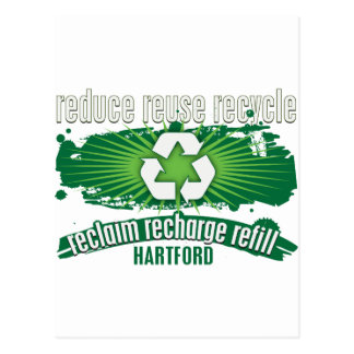 Recycle Hartford Postcard