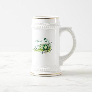 Recycle Hawaii Beer Stein