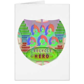 RECYCLE HERO AWARD - Encourage Now Card