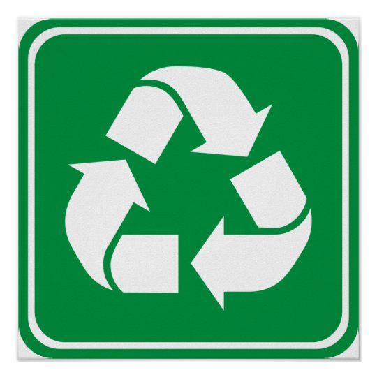 Recycle Highway Sign