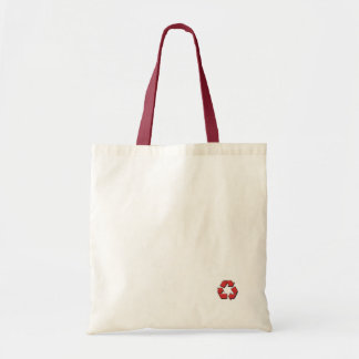 Recycle in Style Totes - Red Budget Tote Bag