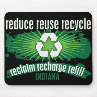 Recycle Indiana Mouse Pad