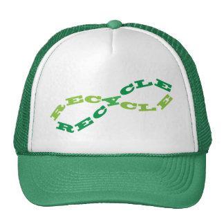 Recycle Infinity Trucker Hat