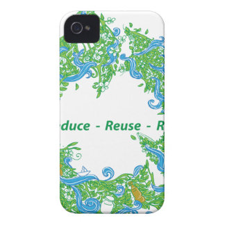 Recycle iPhone 4 Case
