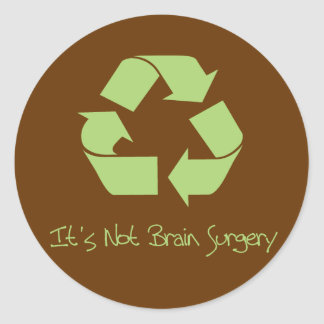 Recycle it's Easy Stickers