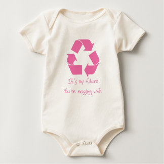 Recycle Its My Future Baby Bodysuit