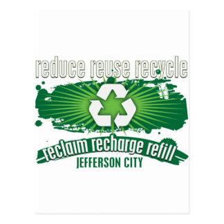 Recycle Jefferson City Postcard