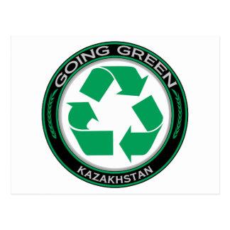 Recycle Kazakhstan Postcard