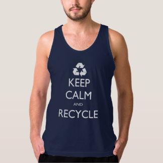 Recycle Keep Calm Tank Top