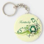Recycle Kentucky Keychain
