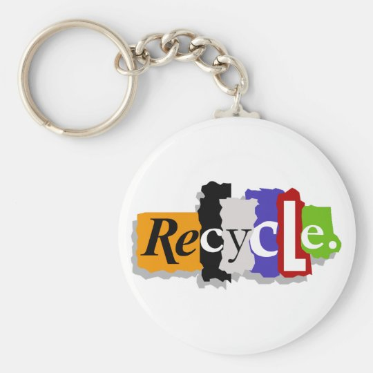 Recycle Keychain