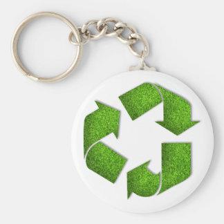 Recycle Keychain