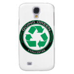 Recycle Kyrgyzstan Samsung Galaxy S4 Case