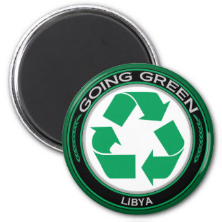 Recycle Libya Magnet