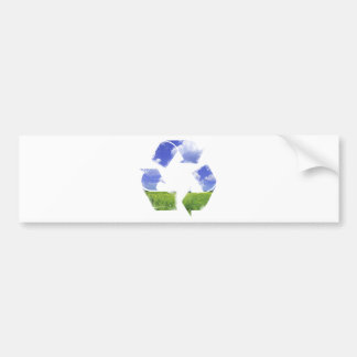 Recycle Life Car Bumper Sticker