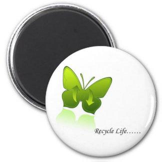 Recycle Life! Fridge Magnet