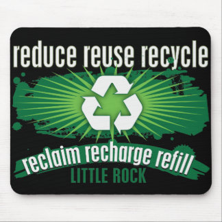 Recycle Little Rock Mouse Pad