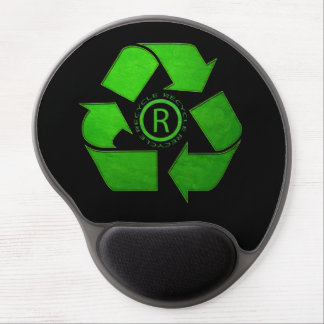 Recycle Logo by Shirley Taylor Gel Mouse Pad