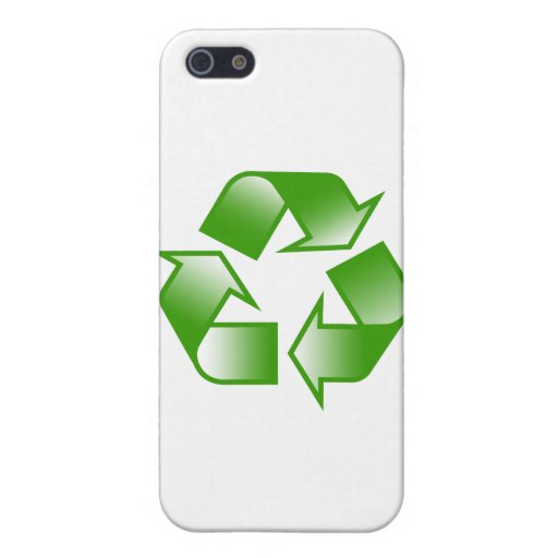 Recycle Logo iPhone 5 Cover