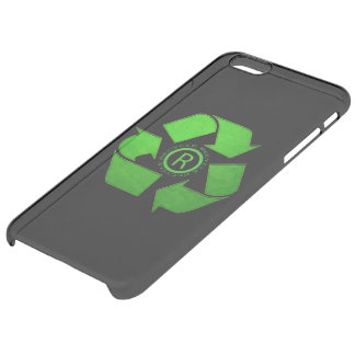 Recycle Logo Uncommon Clearly™ Deflector iPhone 6 Plus Case