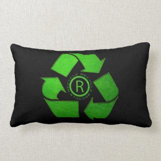 Recycle Logo Lumbar Pillow