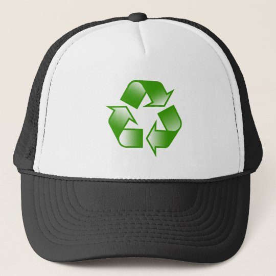 Recycle Logo Trucker Hat