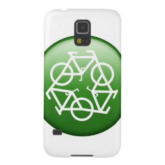 Recycle Logo w/ Bicycles Galaxy S5 Case