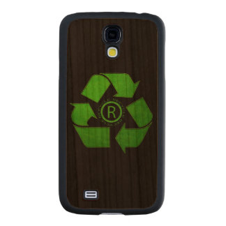 Recycle Logo Carved® Cherry Galaxy S4 Slim Case