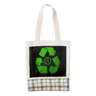 Recycle Logo Zazzle HEART Tote Bag