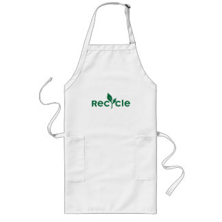 Recycle Long Apron