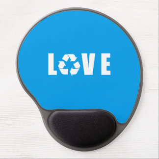 Recycle Love Gel Mouse Pad