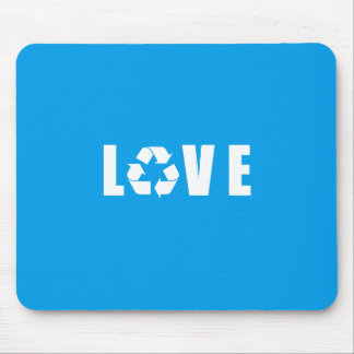 Recycle Love Mouse Pad