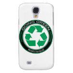 Recycle Martinique Galaxy S4 Case