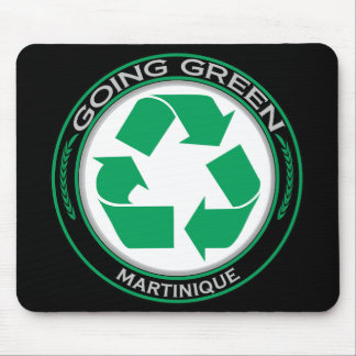Recycle Martinique Mouse Pad