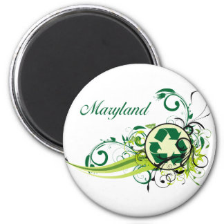 Recycle Maryland Magnet