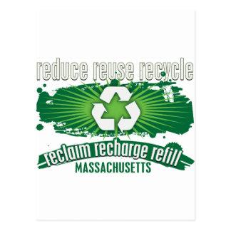Recycle Massachusetts Postcards