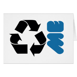 RECYCLE ME CARD