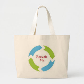 Recycle Me Large Tote Bag