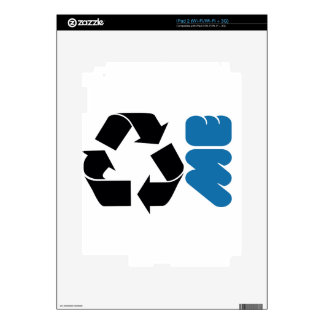 RECYCLE ME SKIN FOR THE iPad 2