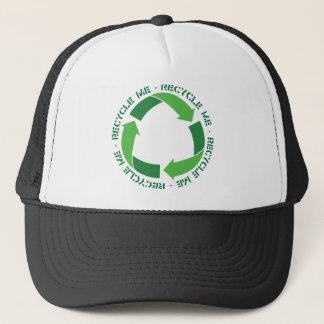 Recycle me trucker hat