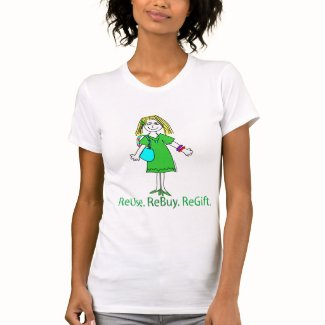 Recycle Message T-shirts