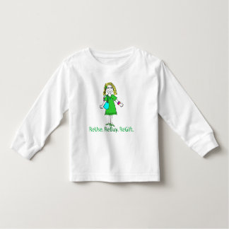 Recycle Message Toddler T-shirt